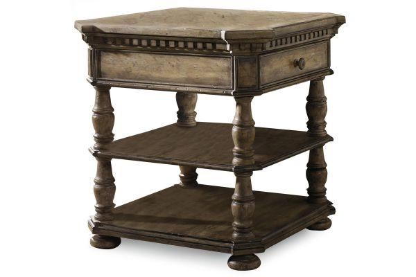 Large image of Hooker Furniture Living Room Sorella End Table - 5107-80113