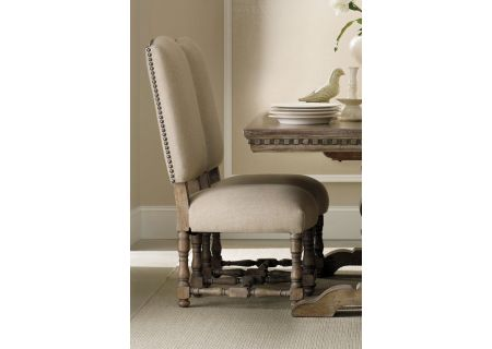 Hooker Furniture Taupe Antique Sorella Upholstered Side Chair - 5107-75510