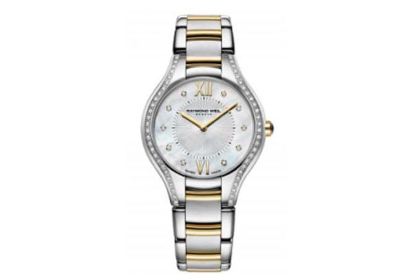 Raymond Weil Noemia Two-Tone Stainless Steel Womens Watch - 5132SPS00985