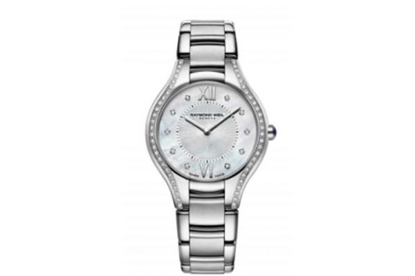 Large image of Raymond Weil Noemia Stainless Steel Womens Watch - 5132STS00985