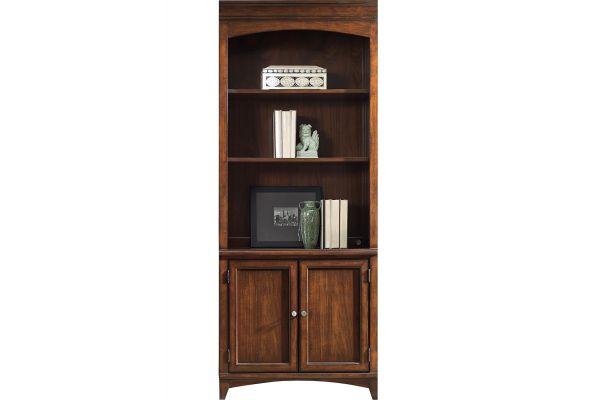 Large image of Hooker Furniture Home Office Latitude Bunching Bookcase - 5167-10445