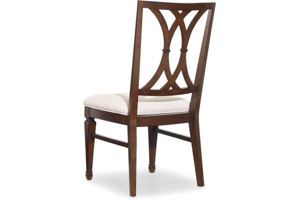 Large image of Hooker Furniture Dining Room Palisade Splat Back Side Chair - 5183-75310