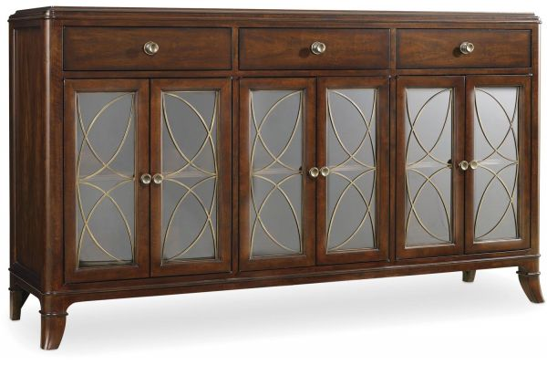 Large image of Hooker Furniture Dining Room Palisade Buffet - 5183-75900