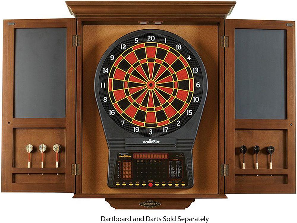Brunswick Chestnut Dartboard Cabinet 51870575002