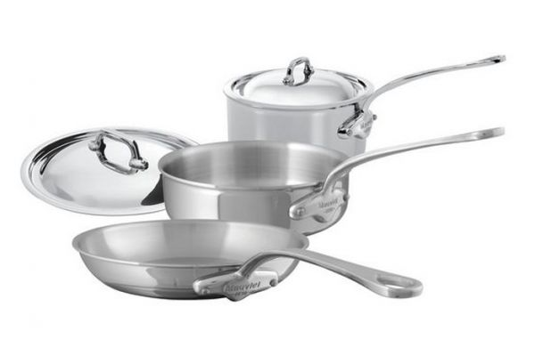 Mauviel Mcook 5 Pieces Stainless Steel Cookware Set - 5200.20