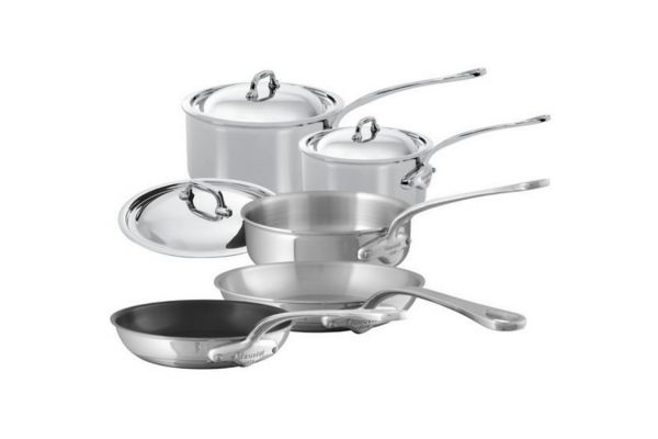 Mauviel Mcook 8 Pieces Stainless Steel Cookware Set - 5200.21
