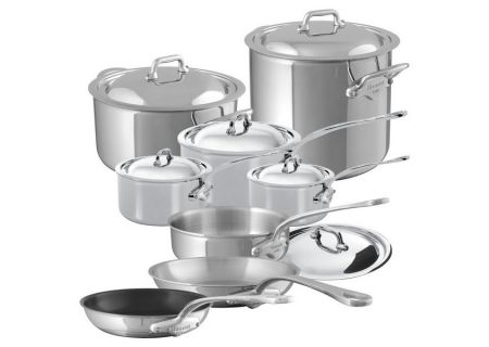 Mauviel Mcook 14 Pieces Stainless Steel Cookware Set - 5200.24