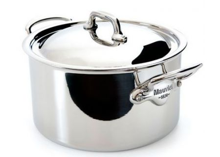 Mauviel Mcook 6.4 Qt. Stainless Steel Stew Pot - 523125 - 523125