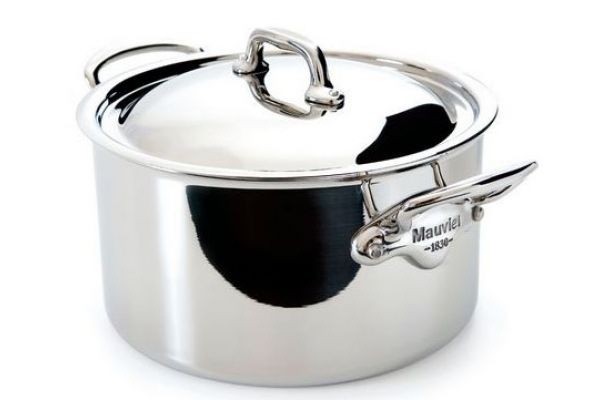 Mauviel Mcook 6.4 Qt. Stainless Steel Stew Pot With Lid - 523125
