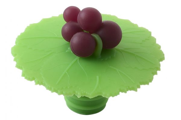 Large image of Charles Viancin Grape Bottle Stopper - 5299