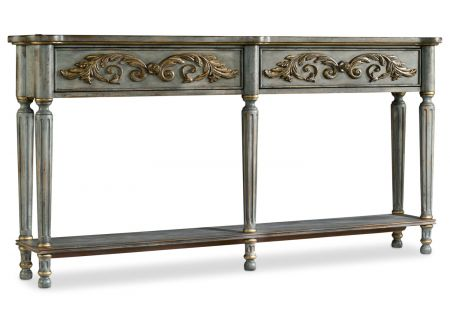 Hooker Furniture Gray Gilded Console Table - 5349-85001