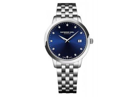 Raymond Weil Stainless Steel Toccata Quartz Ladies Watch - 5388-ST-50081
