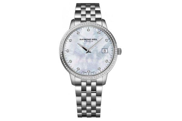 Raymond Weil Stainless Steel Toccata Quartz Ladies Watch - 5388STS97081