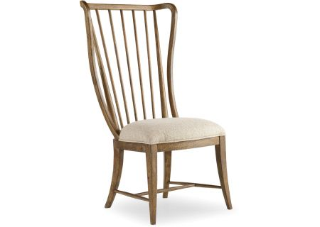 Hooker Furniture Dining Room Sanctuary Tall Spindle Side Chair - 5401-75410