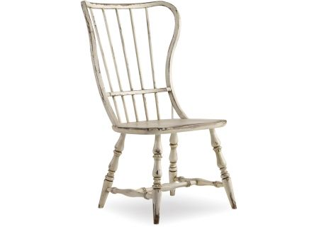 Hooker Furniture Dining Room Sanctuary Spindle Back Side Chair - 5403-75310