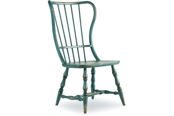 Large image of Hooker Furniture Dining Room Sanctuary Spindle Side Chair - 5405-75310
