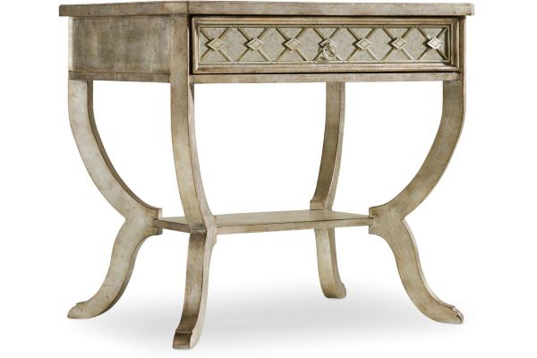 Large image of Hooker Furniture Bedroom Sanctuary Bedside Table - 5413-90015