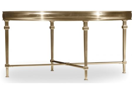 Hooker Furniture Living Room Highland Park Round Cocktail Table - 5443-80111