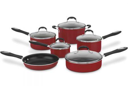 Cuisinart Advantage Red Non-Stick 11-Piece Cookware Set - 5511R