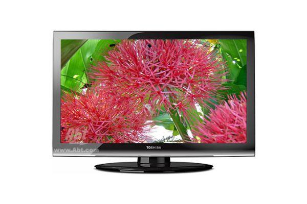 """Large image of Toshiba 55"""" Black LCD Flat Panel HDTV - 55G310U"""