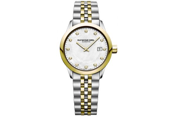 Raymond Weil Freelancer Two-Toned Womens Watch - 5629-STP-97081