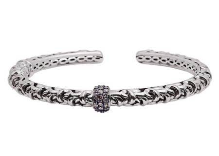 Charles Krypell Ivy Brown Diamond Sterling Silver Bracelet - 56518SBRP