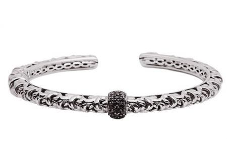 Charles Krypell Ivy Black Sapphire Sterling Silver Bracelet - 56518SBS