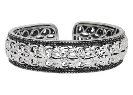 Charles Krypell Ivy Black Sapphire Sterling Silver Bracelet - 56637SBSE