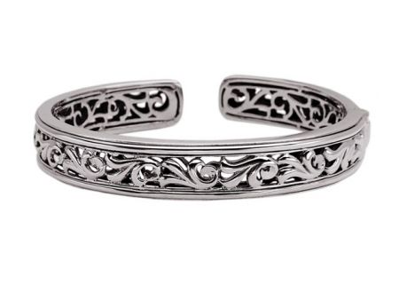 Charles Krypell Ivy Sterling Silver Bracelet - 5-6640-S