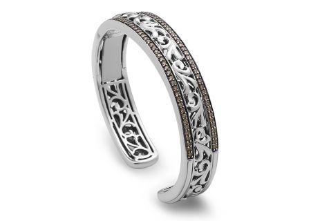 Charles Krypell Ivy Brown Diamond Sterling Silver Bracelet - 56640SBRP
