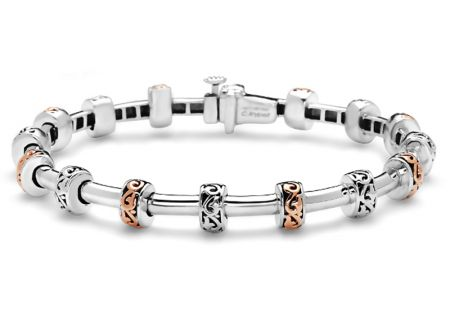Charles Krypell Ivy Two Tone Bracelet - 56939SP