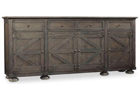 Hooker Furniture Dramatic Dark Charcoal Vintage West Storage Credenza - 5700-85001