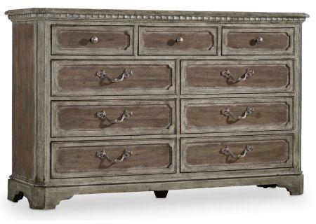 Hooker Furniture Soft Driftwood True Vintage Dresser - 5701-90002