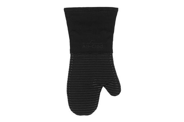 All-Clad Textiles Black Premium Silicone Oven Mitt - 59214