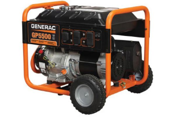 Generac GP Series 5.5kW Portable Generator - 5939