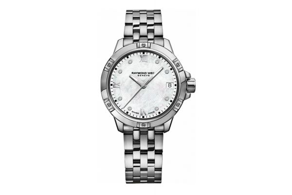Large image of Raymond Weil Tango Stainless Steel Womens Watch - 5960-ST-00995