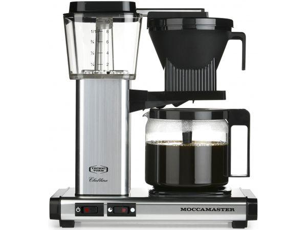 Technivorm Moccamaster Silver Coffee