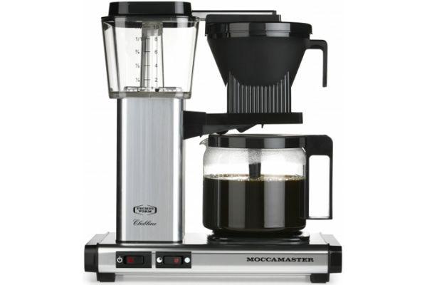 Technivorm Moccamaster Silver Coffee Maker - 59616