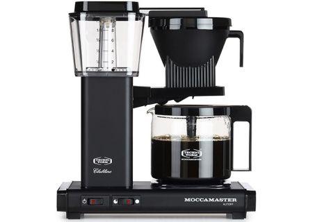 Technivorm Moccamaster Matte Black Coffee Maker  - 59656