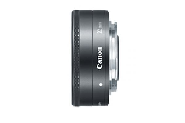Large image of Canon EF-M 22mm f/2 STM Wide-Angle Camera Lens - 5985B002