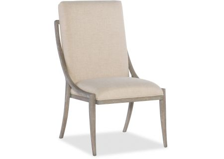 Hooker Furniture Dining Room Affinity Slope Side Chair - 6050-75510-GRY