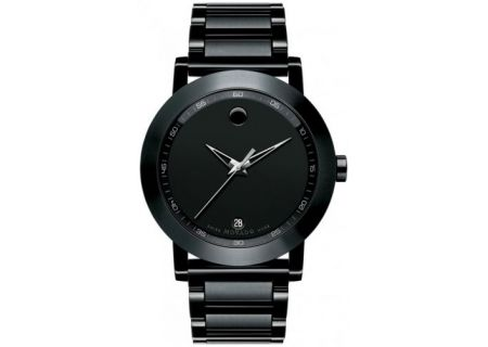 Movado Museum Black Mens Watch - 0606615