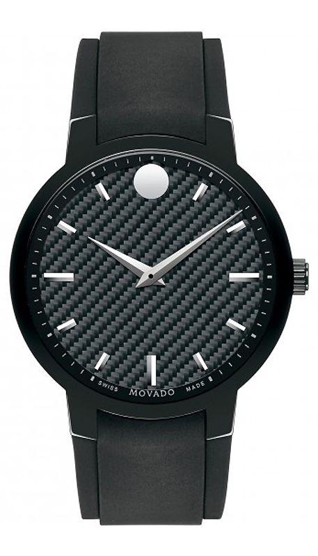4c883a5e9d73 Movado Gravity Large Black Mens Watch - 0606849