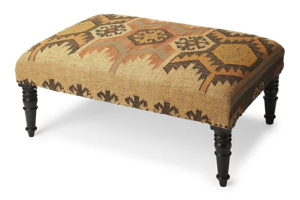 Large image of Butler Specialty Company Mesquite Mountain Lodge Cocktail Ottoman - 6096120