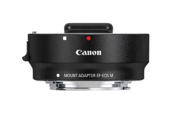 Large image of Canon EF-EOS M Mount Adapter - 6098B002