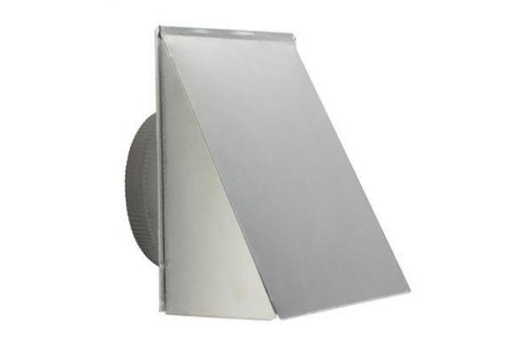 """Broan 10""""  Round Aluminum Fresh Air Inlet Wall Cap  - 610FA"""