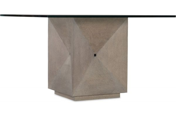 """Large image of Hooker Furniture Dining Room Miramar Carmel Delmar 48"""" Square Dining Table - 6200-75203-GRY"""