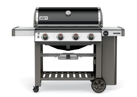 Weber Genesis II E-410 Black Liquid Propane Gas Outdoor Grill - 62010001