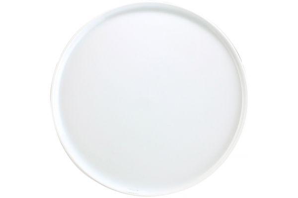 "Large image of Pillivuyt White 11.5"" Cake Stand - 630929"
