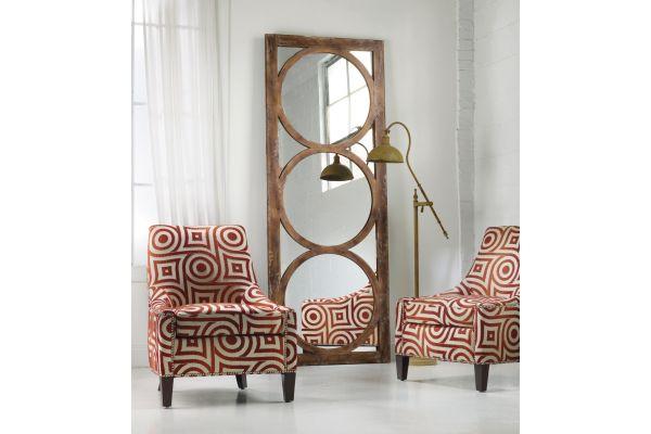 Large image of Hooker Furniture Melange Encircle Floor Mirror - 638-50033